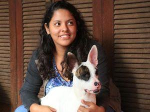Estudante busca amenizar frio de pets em MS