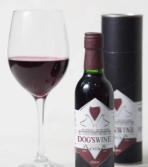 Vinho para cachorros é fabricado no Brasil